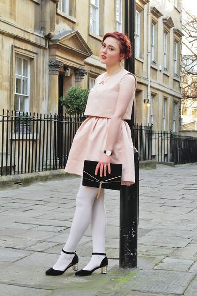 briar rose blogger coat dress bag jewels shoes
