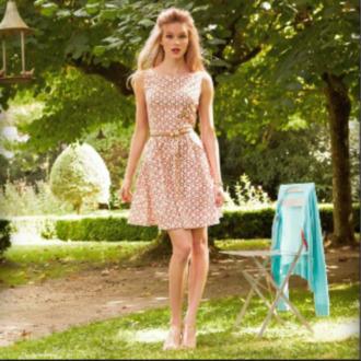 dress pink pink dress summer cute fashion girly original vintage