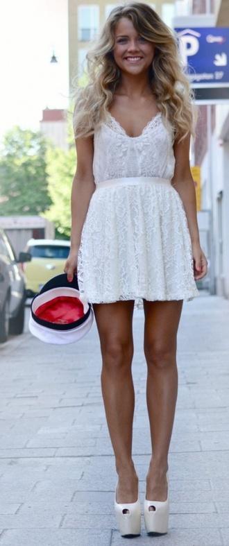 dress boho white dress white bohemian