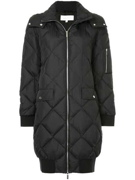 Ck Calvin Klein coat women quilted black