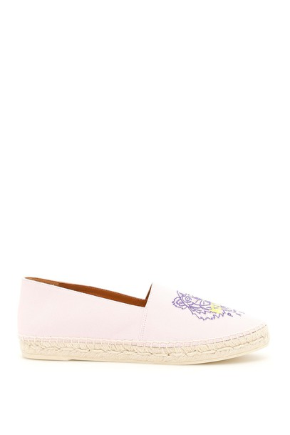Kenzo classic tiger espadrilles rose shoes