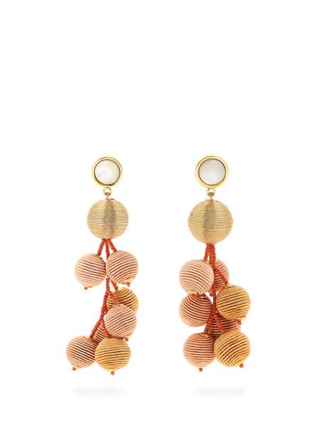 Lizzie Fortunato earrings gold jewels