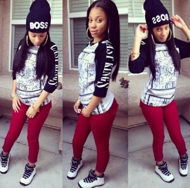 purchase cheap a7b97 7b23d Outfits To Wear With Jordans For Girls. Cute Outfits For