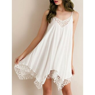 dress white girly fashion style cute summer feminine rose wholesale-ma girl girly wishlist