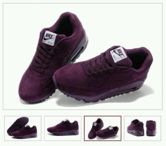 shoes nike purple trainers air max sued
