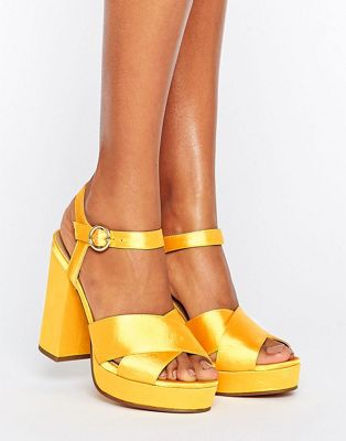 ASOS HUMBLE Platform Sandals at asos.com