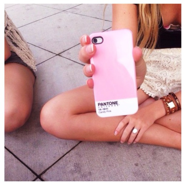 phone cover pink iphone 4 case