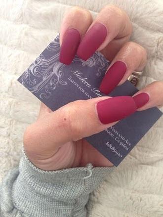nail polish red matte nail polish