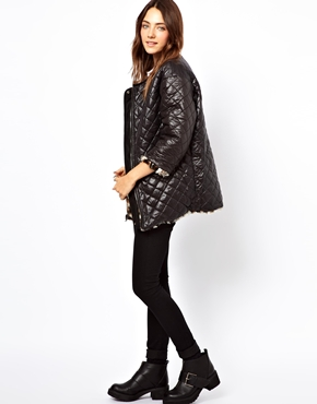 B AB | B AB Reversable Leopard Faux Fur Jacket at ASOS