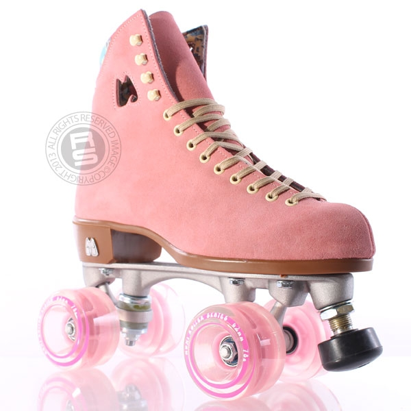 Pink roller skates - photo#20