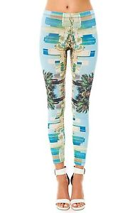 Karmaloop Captivate THE LOS Angeles Leggings Multi | eBay