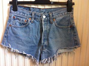 levis vintage high waisted shorts size 8/10 | eBay