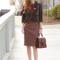 Elegantly dressed and stylish -fashion over 50