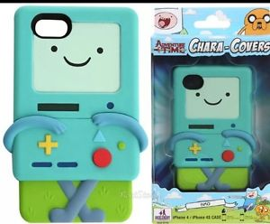 NIB Adventure Time Bmo Beemo Chara Covers Iphone 5s Case Green New
