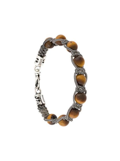 EMANUELE BICOCCHI women silver brown jewels