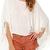 ROMWE | Tassels Sleeves Loose Blouse, The Latest Street Fashion