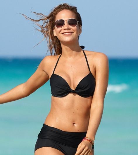 Aerie Brooke Bikini Top True Black Aerie For American Eagle
