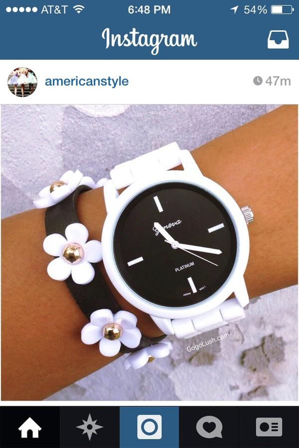 jewels bracelets flowers