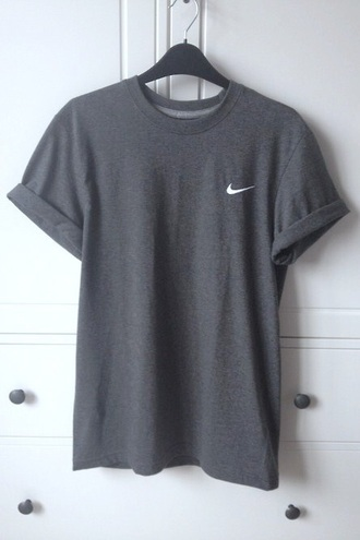 t-shirt nike grey shirt