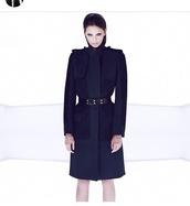 coat,navy,jacket,camillia n marc