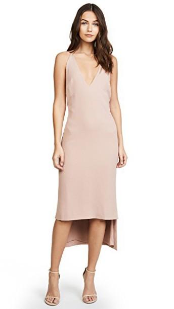 Dion Lee dress pink