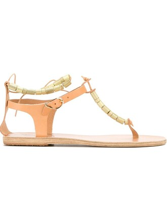 beaded sandals nude shoes