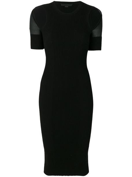 Alexander Wang dress midi dress women midi spandex cotton black