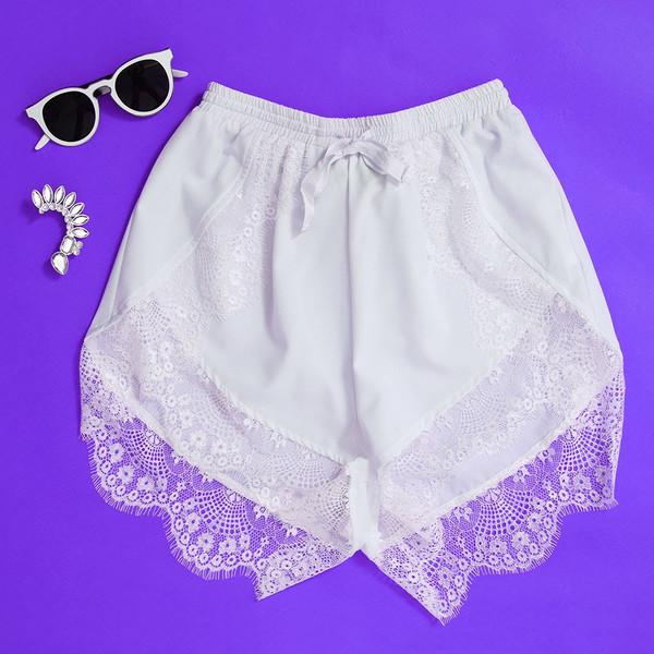 Sparrow Festival Laces Shorts (4 colors available) – Glamzelle