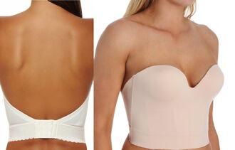 underwear backless bra strapless