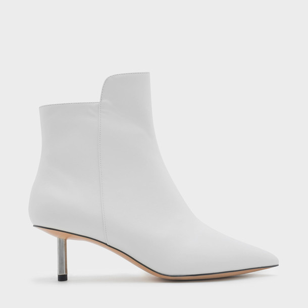 boot heels white shoes