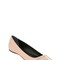 10mm trompette patent leather flats