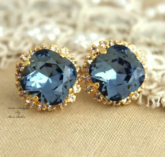 Strass stallone blu denim swarovski Crystal regalo di di iloniti