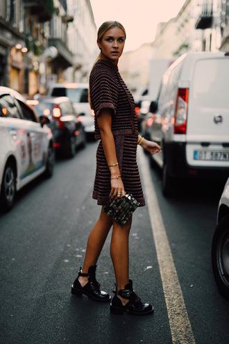 en vogue coop blogger top shoes bag