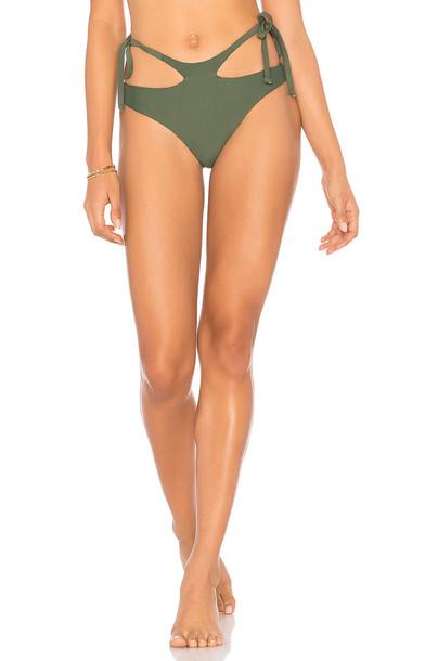 Midsommar Swim bikini green swimwear
