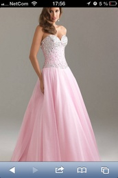 dress,prom dress,tulle dress,gallakjoler,aftenkjoler,prom,sparkle,elegant,light pink,pink,bedazzled,rhinestones,glitter,long dress,maxi dress,jovani prom dress