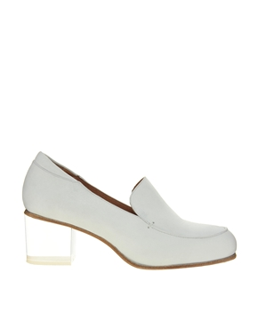 ASOS White | ASOS WHITE WARWICK Leather Loafers at ASOS
