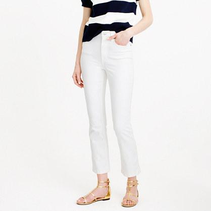 f2e53cf65c1 Billie demi-boot crop jean in white