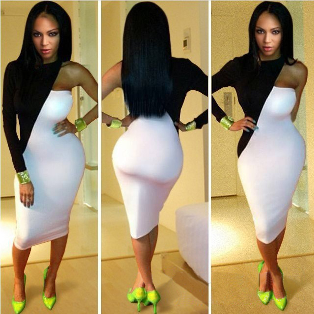 Sexy Slim Bandage Bodycon Celebrity Party Cocktail Strapless Evening Dress BW3 | eBay