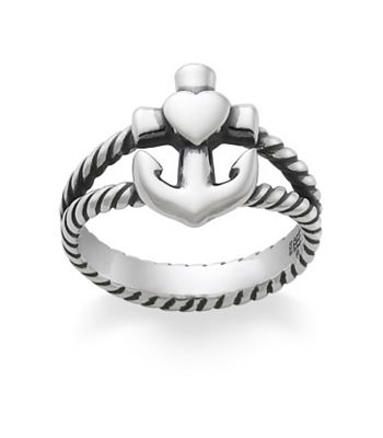 Faith, Hope & Love Twisted Rope Ring: James Avery