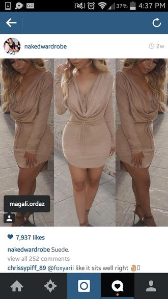 dress nude dress short dress long sleeve dress sexy dress