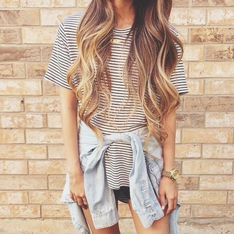 t-shirt striped tshirt stripes