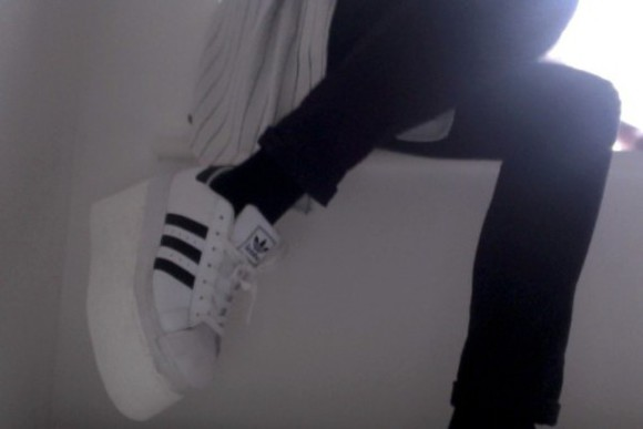 shoes platform shoes adidas adidas originals