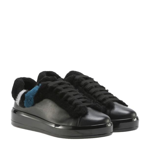 Prada Linea Rossa black shoes
