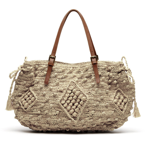 Woodstock raffia 24 hour bag