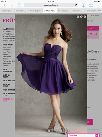 dress strapless dress purple purple dress short short dress purple short dress prom dress prom