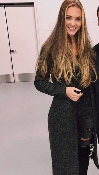 coat grey long coat wool coat slim fit grey fitted coat