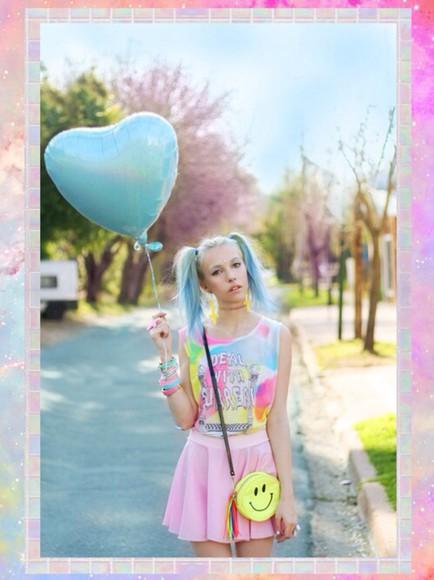 shirt t-shirt skirt tank top pastel pink pastel pink pastel grunge kawaii kawaii grunge tumblr