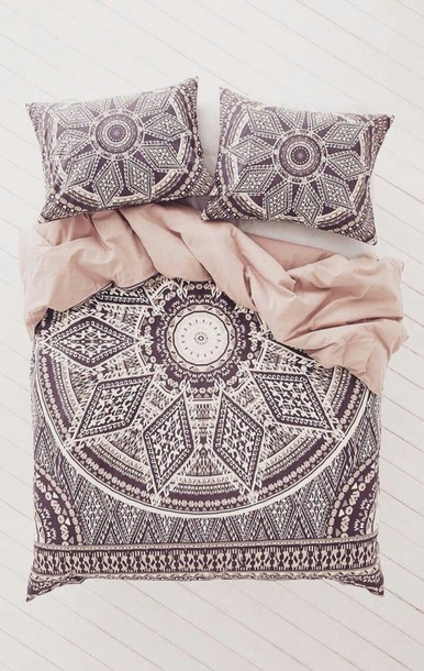 Home Accessory Bedding Hipster Mandala Dorm Room Bedding Sheets Throw  Pillows Bedroom