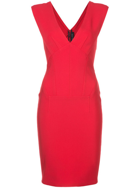Yigal Azrouel dress women spandex red