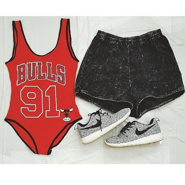 shorts chicago bull onesies acid washed shorts chicago bulls nike running shoes nike roshe run shoes shirt